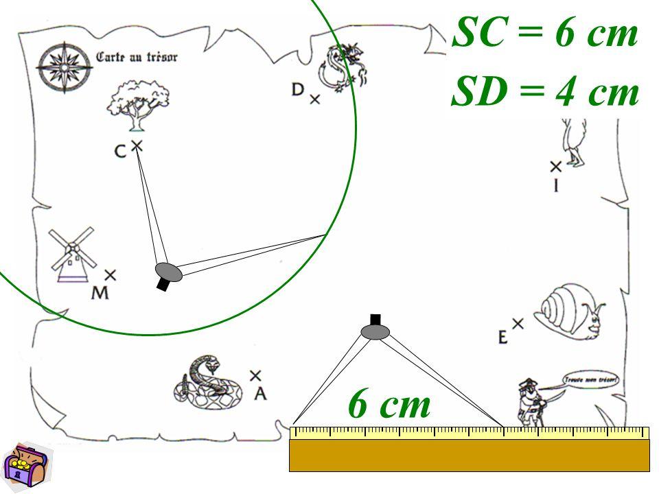 4 6 cm SC = 6 cm SD = 4 cm