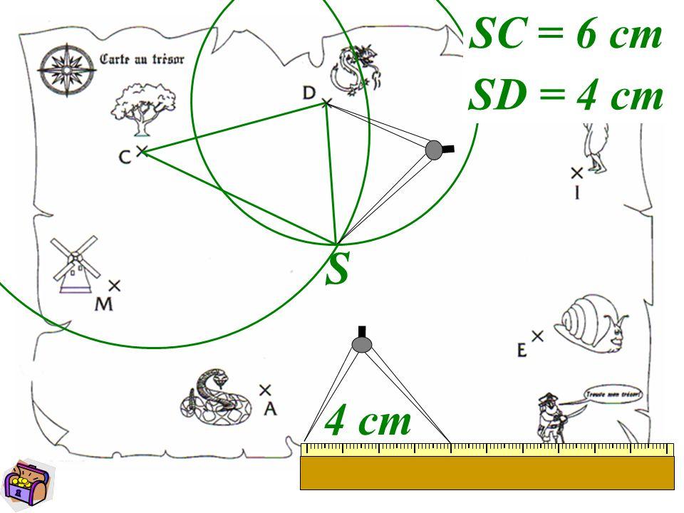 5 S 4 cm SC = 6 cm SD = 4 cm