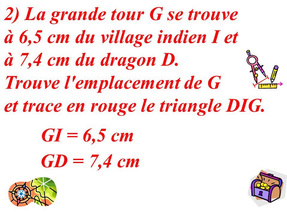 8 S 6,5 cm GI = 6,5 cm GD = 7,4 cm
