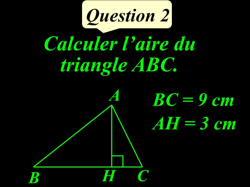Question 1 Développer : (2x-7)²