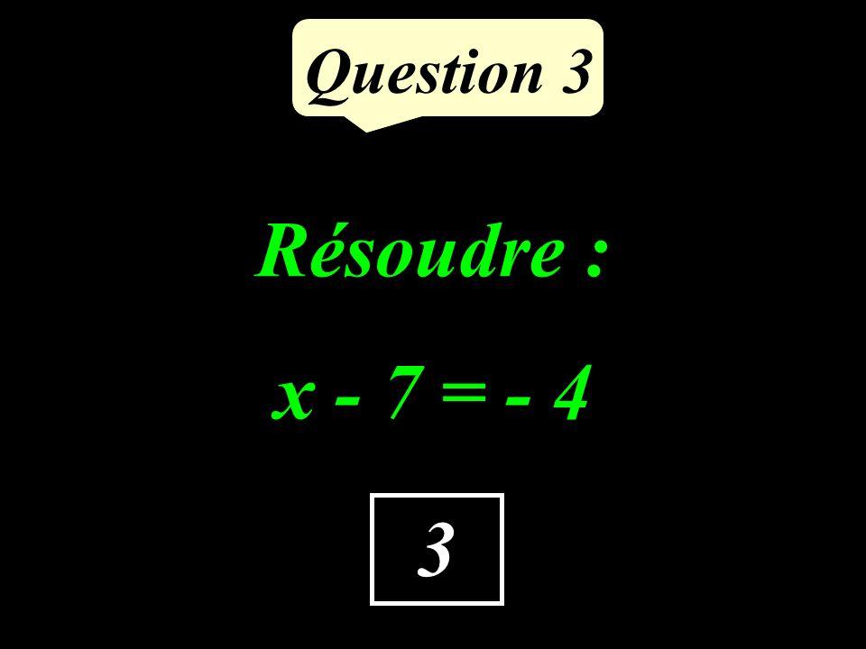 Question 2 -2x + 4 Supprimer les parenthèses et réduire : (-8x + 5) + (6x - 1)