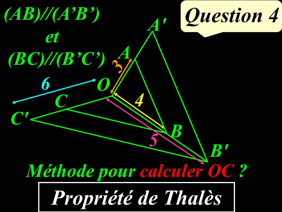 Résoudre : x - 7 = - 4 Question 3 3