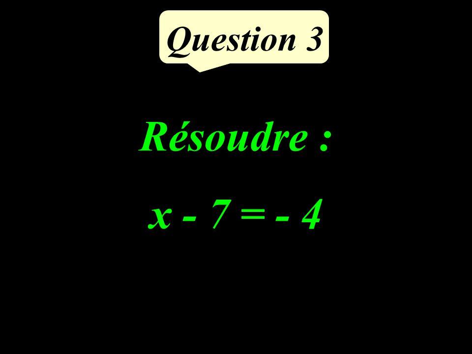 Question 2 Supprimer les parenthèses et réduire : (-8x + 5) + (6x - 1)