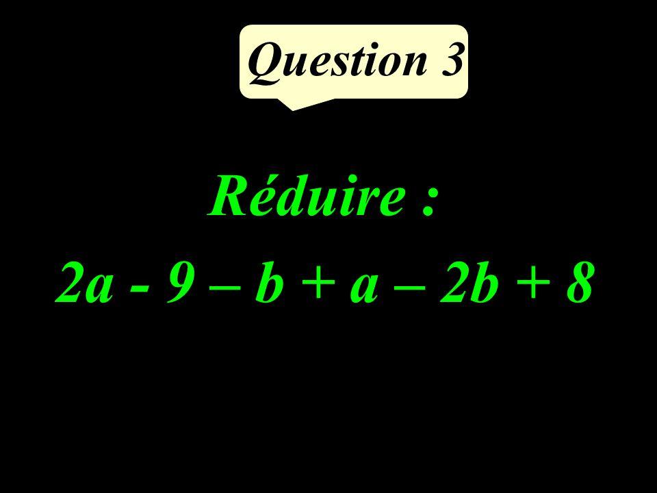 Question 2 Compléter pour que légalité écrite soit correcte : 9797 = …. 28