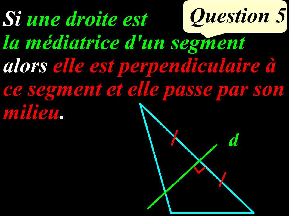 (BC) // (DE) Méthode pour calculer AD ? Propriété de Thalès DE A B C 5 cm 3 cm 8,8 cm ? Question 3
