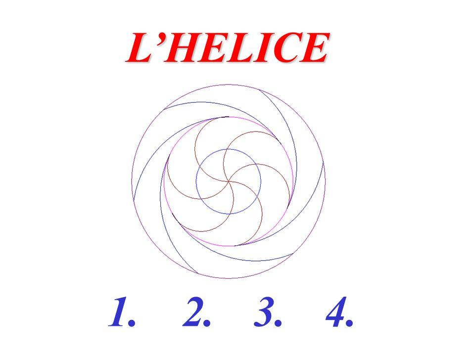 1.Tracer 3 cercles (C 1 ), (C 2 ), (C 3 ) de même centre O et de rayons respectifs 2 cm, 4 cm et 6 cm.