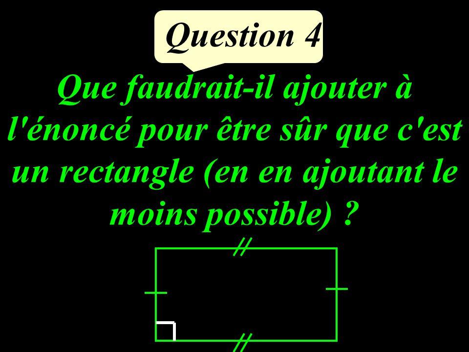 Légalité suivante est- elle vraie pour x = 2 et y = 0 4(x - 2) = 5 y Question 3 Oui, car 0 = 0