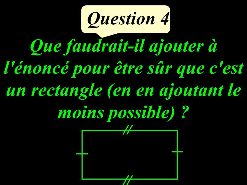 Légalité suivante est- elle vraie pour x = 2 et y = 0 4(x - 2) = 5 y Question 3