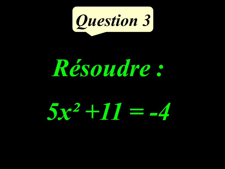 Question 2 Dans les conditions de la propriété de Thalès, calculer MQ. Q L N P M 4 cm 3 cm 6 cm