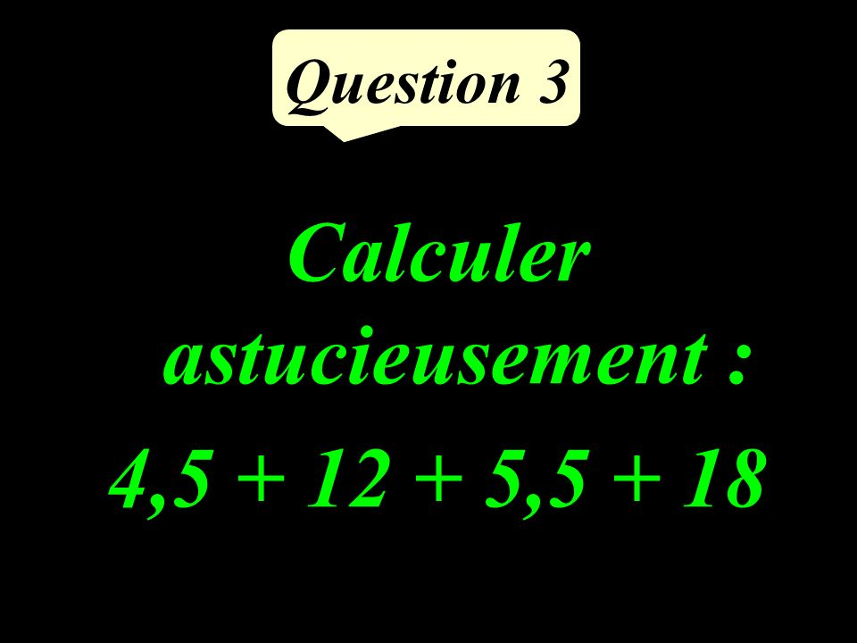 Question 2 Compléter : 3,78 m = …… mm