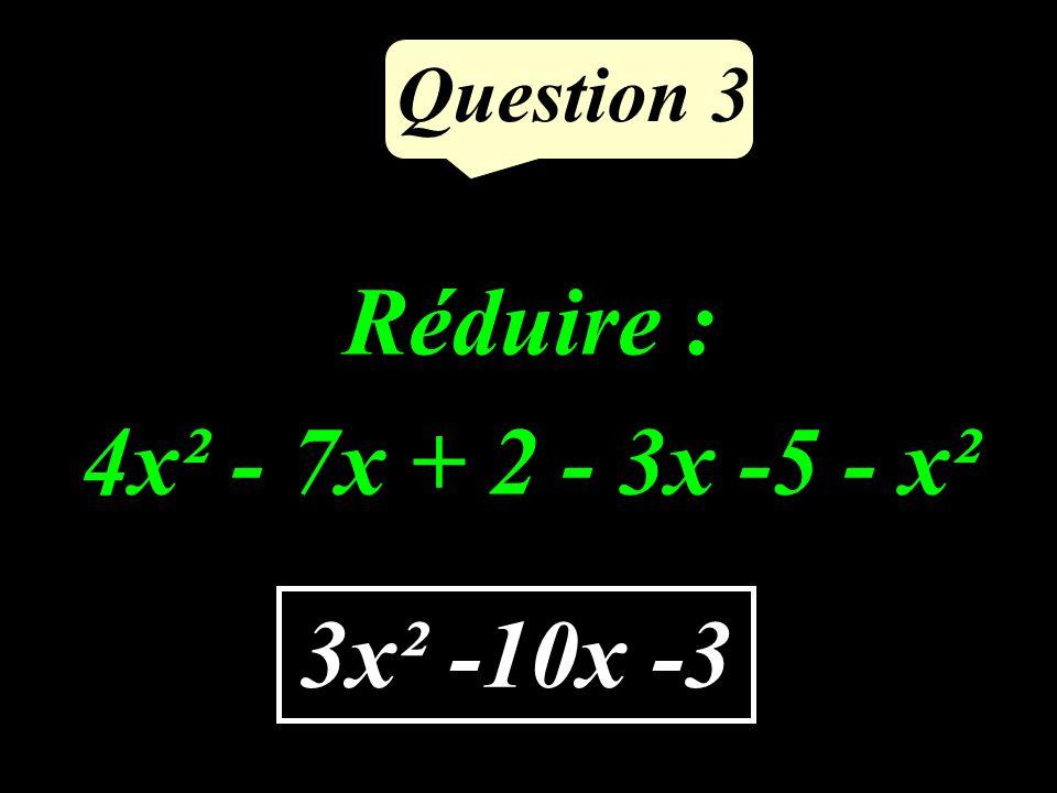 Question 2 Les nombres 14 et 35 sont-ils premiers entre eux ? NON
