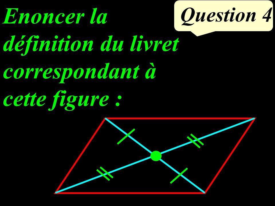 Question 4 Enoncer la définition du livret correspondant à cette figure :