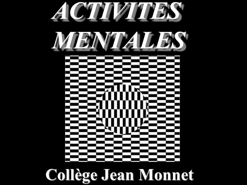 Collège Jean Monnet ACTIVITES MENTALES