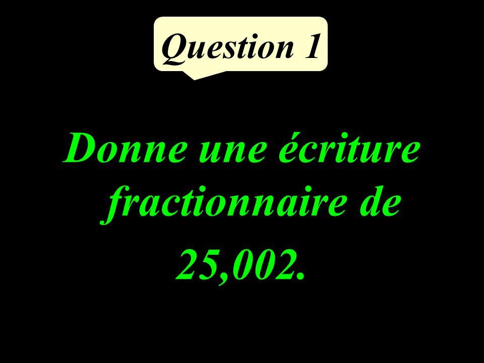 Question 5 Tracer tous les points situés à 2 cm de I. I 2 cm