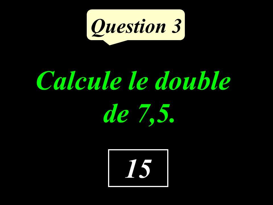 Question 2 Quelle est labscisse de A A O 01 1,9
