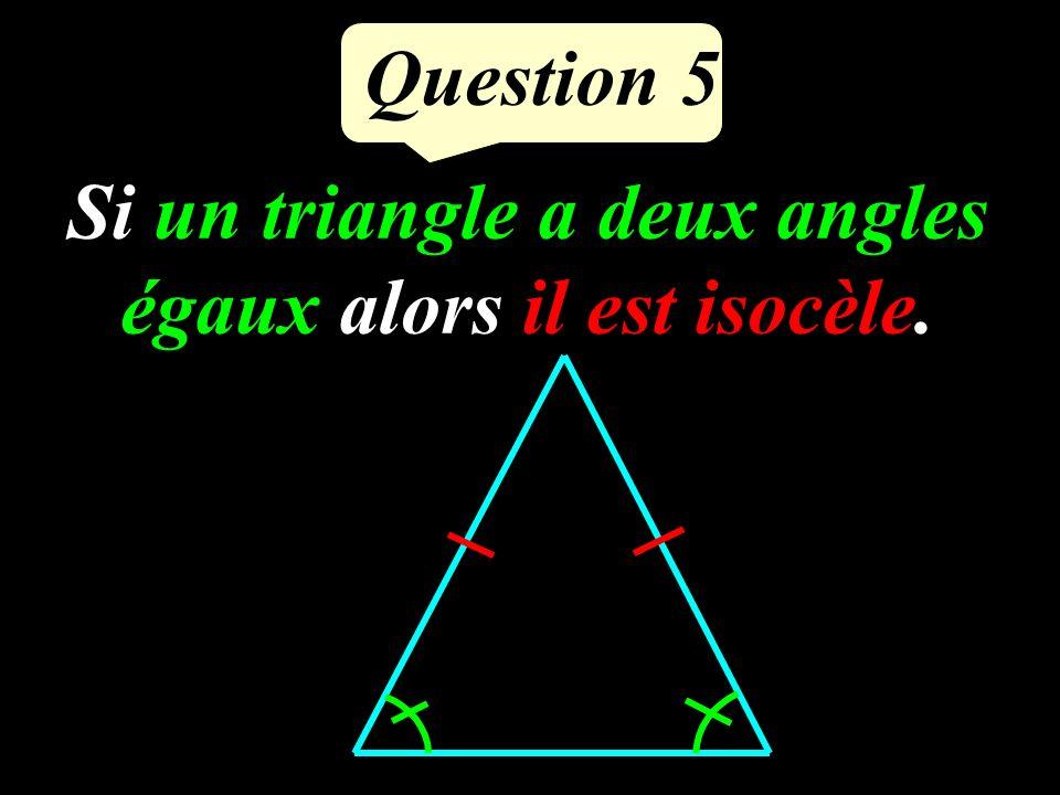 Question 4 Réciproque de la propriété de Thalès J K I L M 5 cm 4 cm 8 cm 6,4 cm Comment démontrer que (IJ) et (KL) sont parallèles