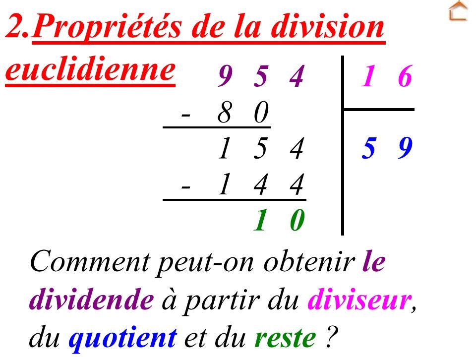 Un nombre entier est divisible par 9 si la somme de ses chiffres est un multiple de 9.