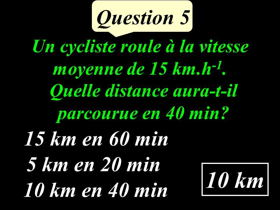 est-elle vraie pour x = 1 et y = 2 Question 4 4(3 + x) = 8 y .