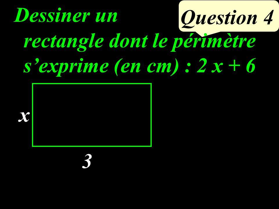 Question 3 Si un quadrilatère est un losange, alors tous ses côtés sont de la même longueur CAB est un triangle isocèle en B ABCD est un losange de centre O