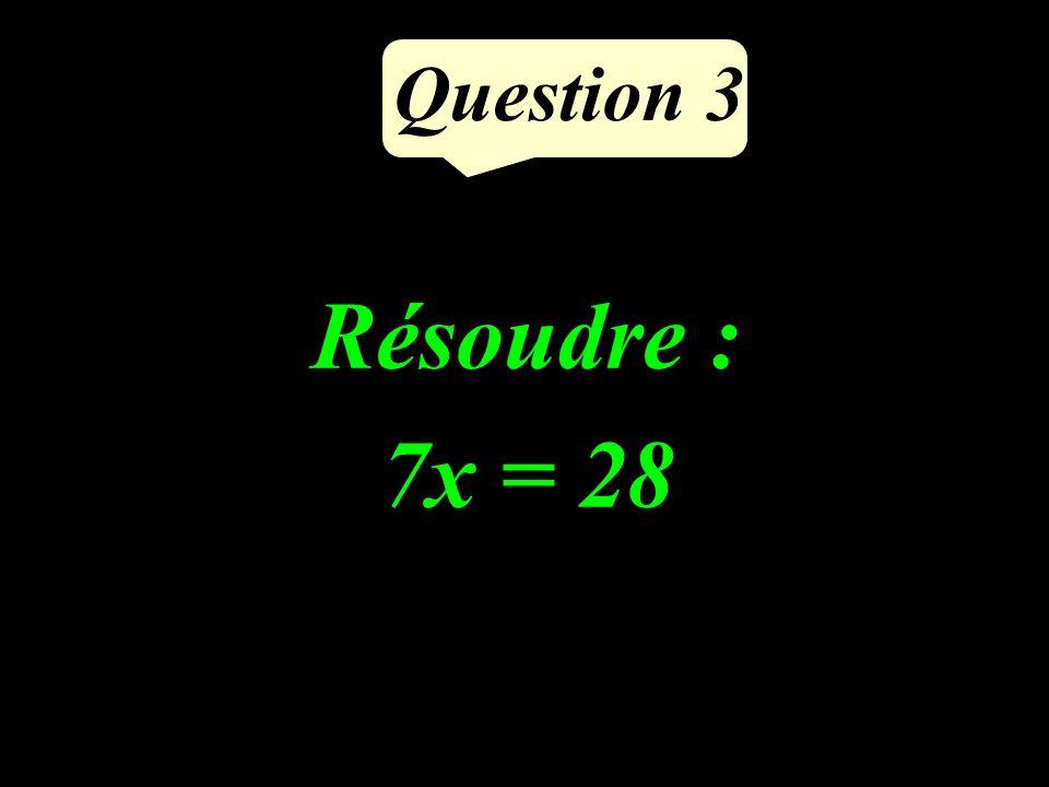 Question 2 Supprimer les parenthèses et réduire : (6x + 4) - (x - 11)
