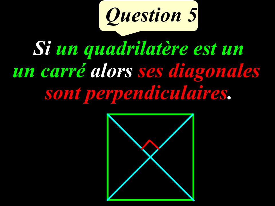 Question 4 BPL est rectangle en P.