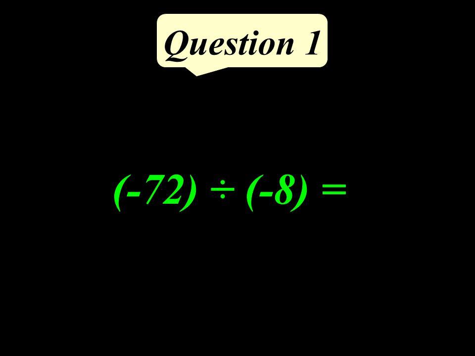 Question 5 Si un quadrilatère est un un carré alors ses diagonales sont perpendiculaires.