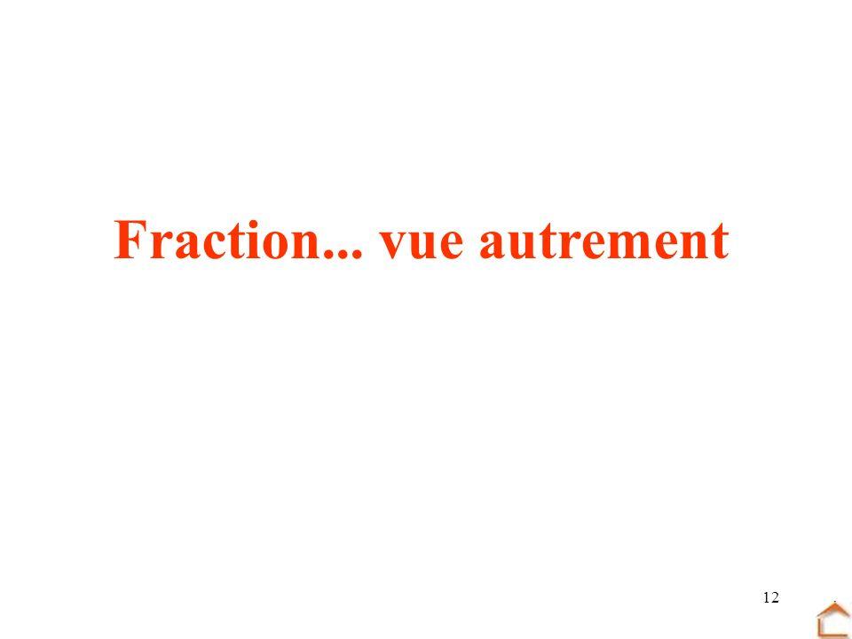 12 Fraction... vue autrement