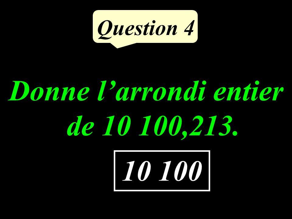 Question 3 Aujourdhui, à partir de 16 h, 15 personnes vont chanter lune après lautre. Chacune chantera pendant 4 minutes. A quelle heure auront-elles