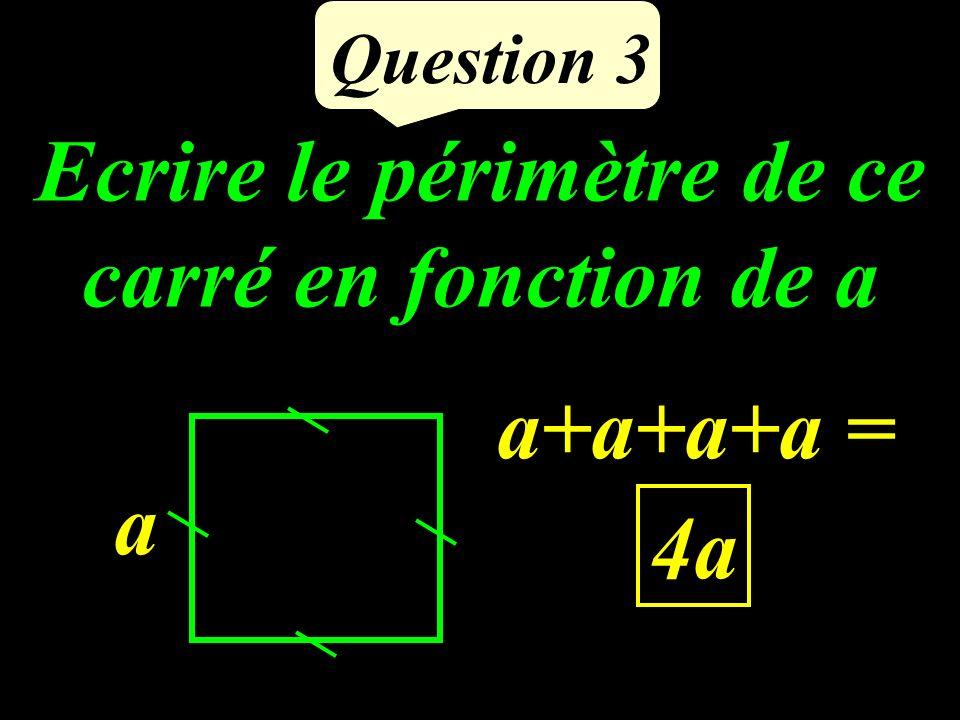 Question 2 ses diagonales se coupent OA = OB = OC = OD - Un quadrilatère dont les diagonales ont le même milieu est un parallélogramme. ABCD est un qu