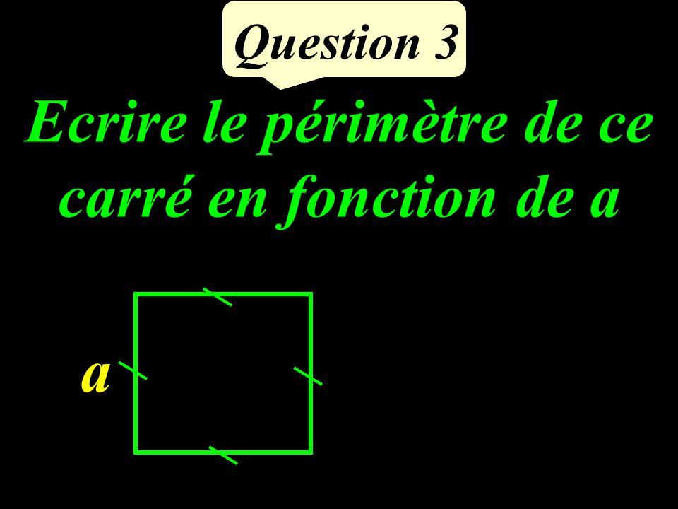 Question 2 ABCD est un quadrilatère dont les diagonales se coupent en O. OA = OB = OC = OD Quelle est la nature de ABCD ?