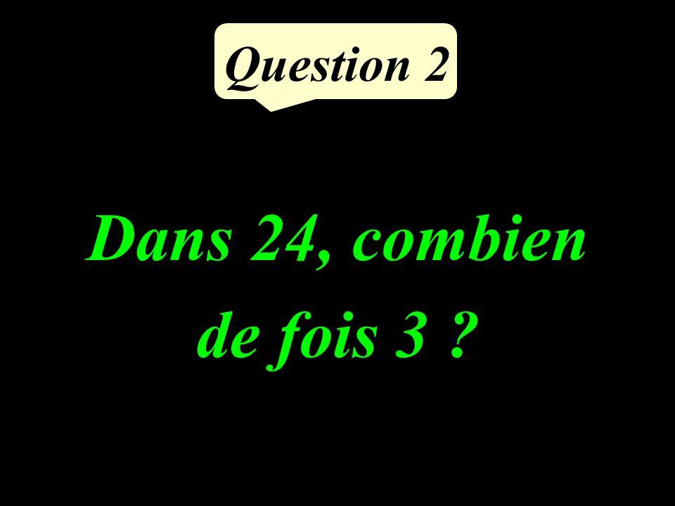 Question 1 Quel est le chiffre de dixièmes dans 54,362