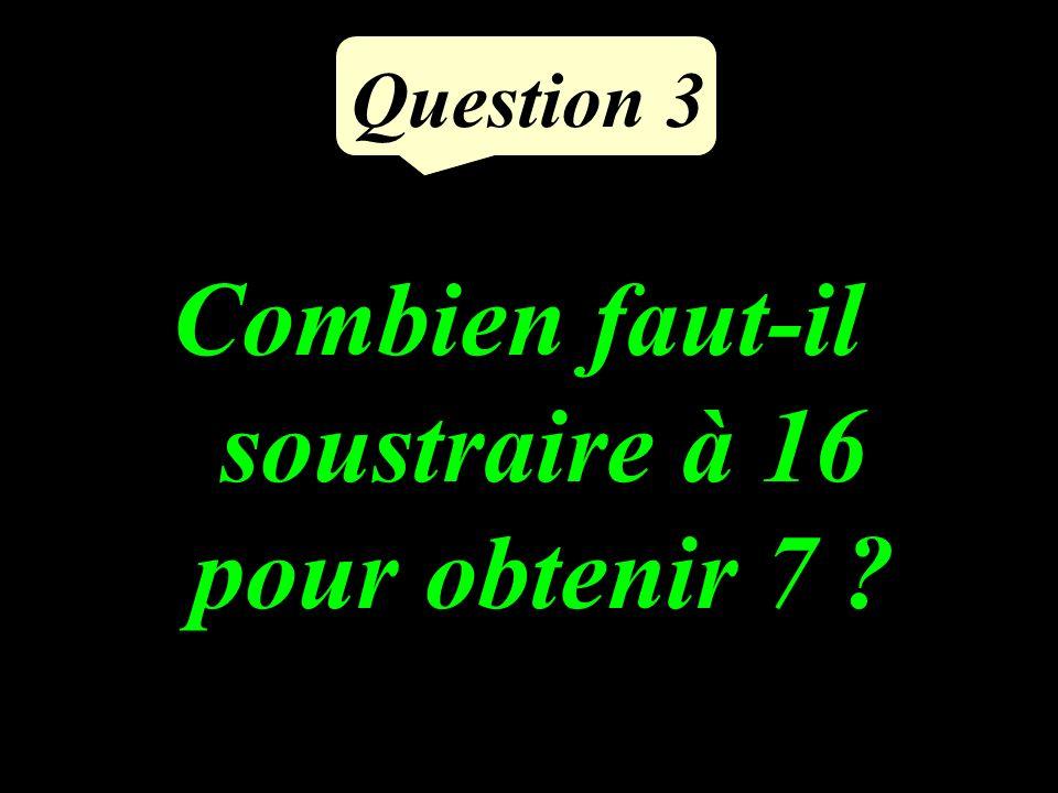 Question 2 Dans 24, combien de fois 3