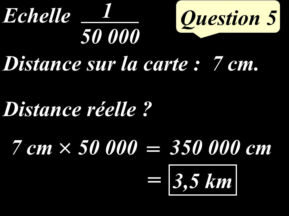 Question 4 La médiane [AM] partage le triangle ABC en deux triangles de même aire donc // laire de AMC est17 : 2 = 8,5 cm²