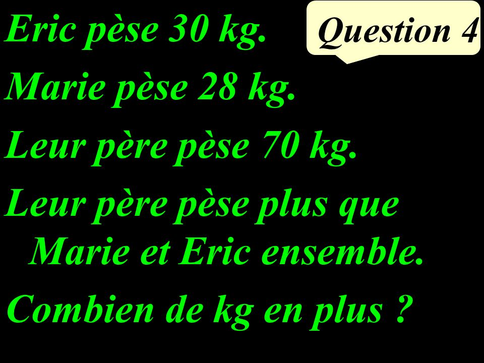 Question 3 Calculer astucieusement :