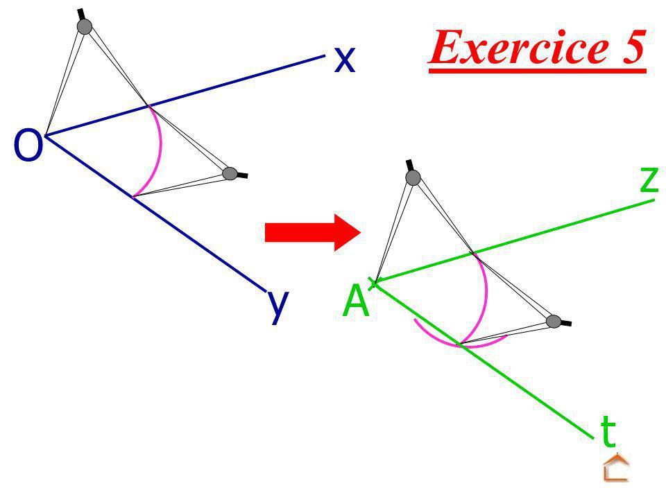 Exercice 5 O x yA z t