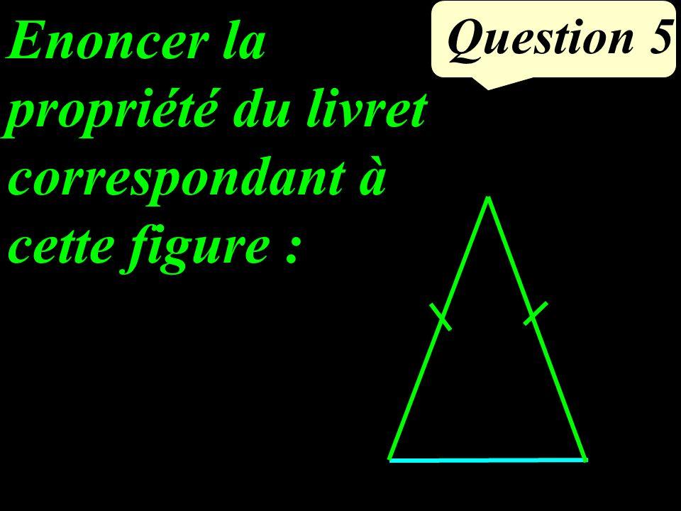 Que peut-on dire des droites (CD) et (FG) Justifier. Question 4 F 67° G E C D 51°
