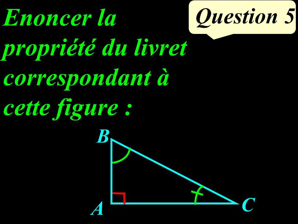 Question 4 (MN) et (RS) sont- elles parallèles ? N P R S M 6 cm 4,5 cm 4 cm 3 cm