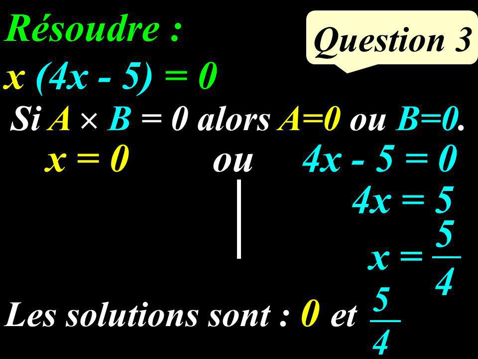 Calculer le volume du cône : Question 2 3 cm 8 cm