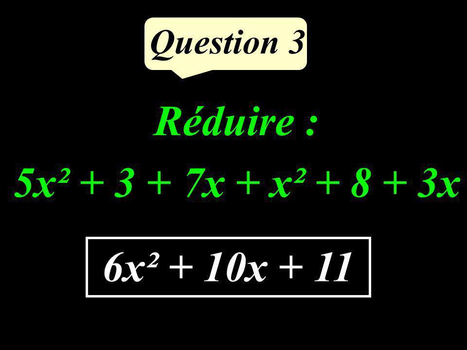 Question 2 Est-ce que 7 est un diviseur de 48 ? NON