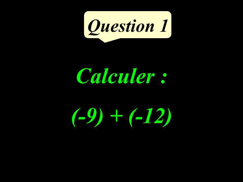Question 5 Si deux droites sont perpendiculaires à une même troisième alors elles sont parallèles entre elles.