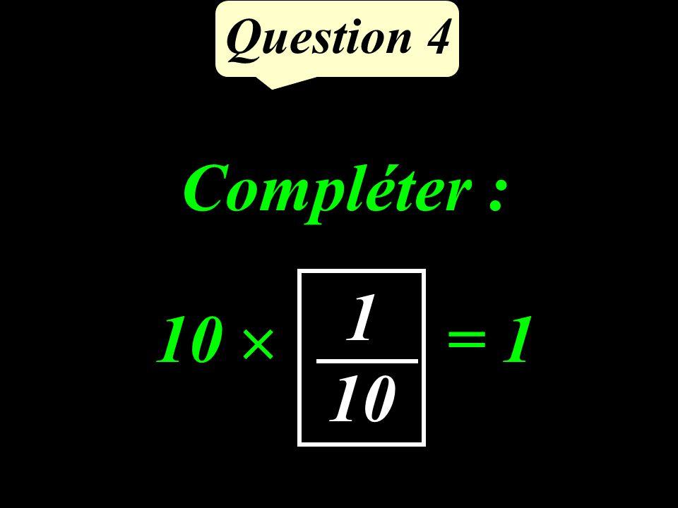 Question 3 110 min Exprimer en minutes : 1 h 50 min