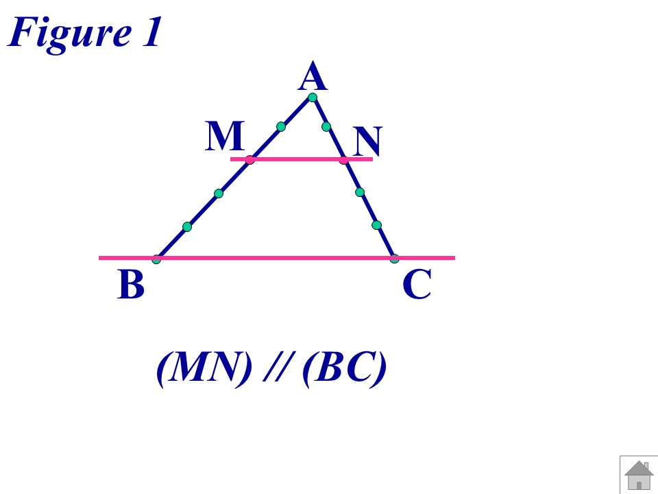 A BC M N Figure 1 (MN) // (BC)