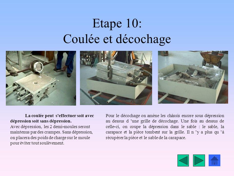 Etape 9: Assembler les 2 demi moules Une fois les 2 demi-moules réalisés, on les réunit en les plaçant lun au dessus de lautre.