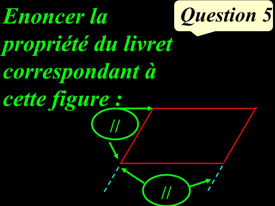 Calculer (2x-1)(x - 8) pour x = 5. Question 4
