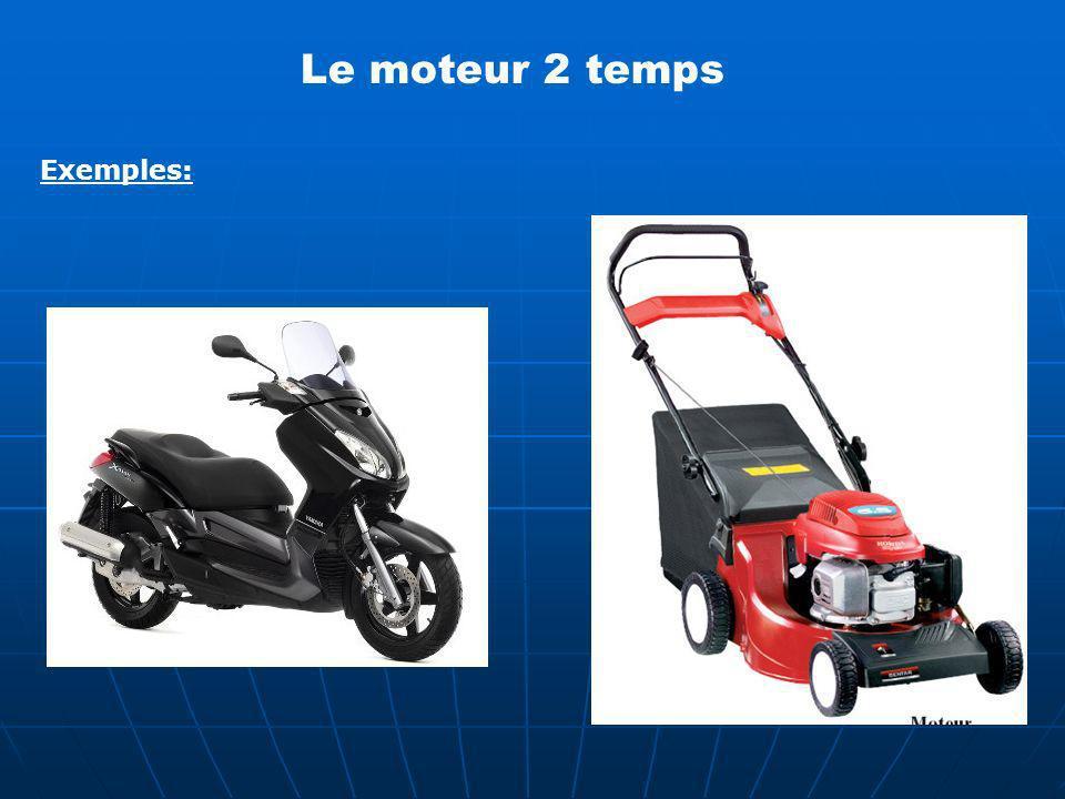 Exemples: Le moteur 2 temps