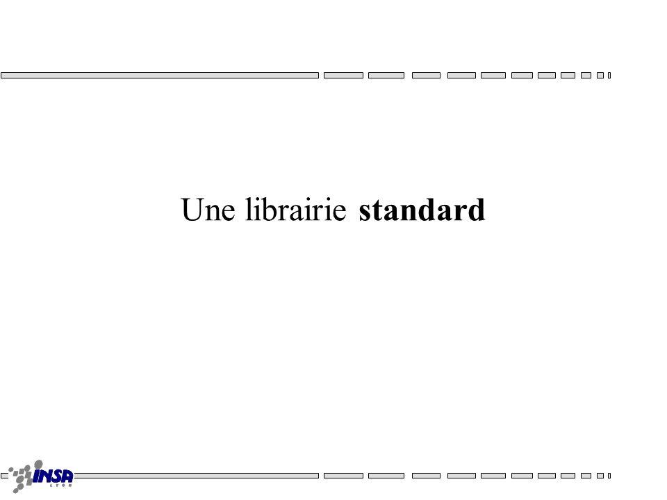 Une librairie standard