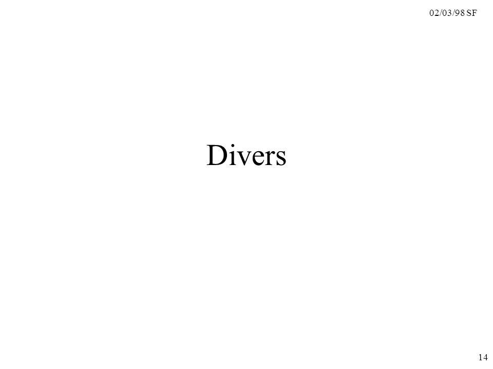 02/03/98 SF 14 Divers
