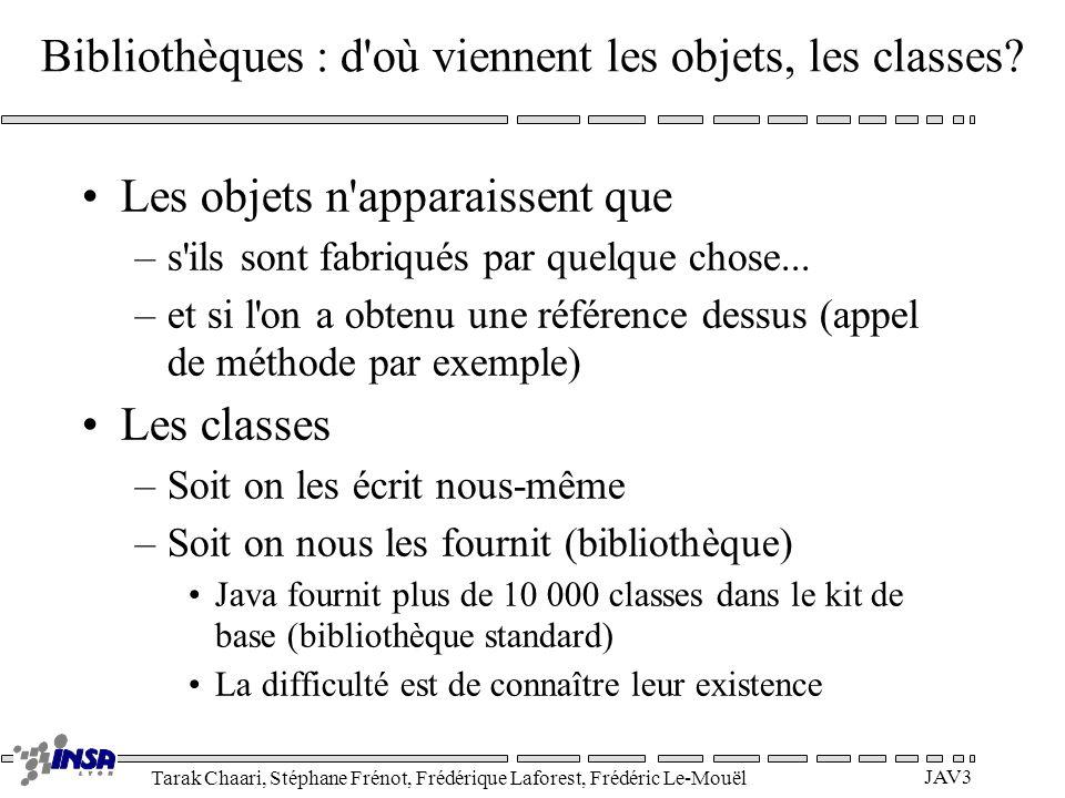 Tarak Chaari, Stéphane Frénot, Frédérique Laforest, Frédéric Le-Mouël JAV14 Surcharge de méthode La surcharge (overloading) permet à plusieurs méthodes ou constructeurs de partager le même nom.