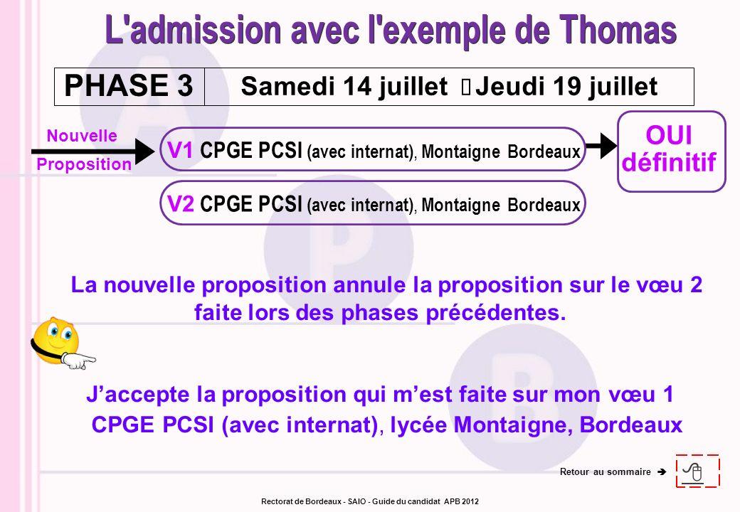 Nouvelle Proposition OUI définitif V1 CPGE PCSI (avec internat), Montaigne Bordeaux V2 CPGE PCSI (avec internat), Montaigne Bordeaux Samedi 14 juillet