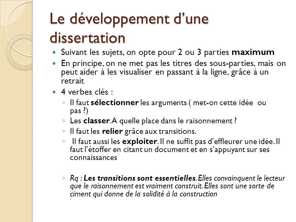plan dune dissertation